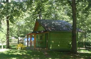 Hebergement Camping Mare de Roy : Chalet 2 Chambres