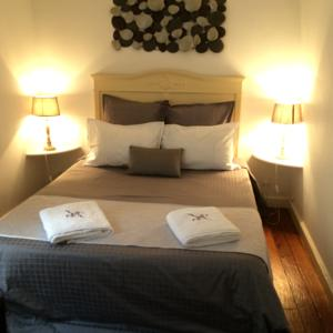 Chambres d'hotes/B&B B&B A L'heure Douce : Chambre Double