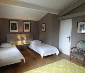 Chambres d'hotes/B&B Bed & Breakfast La Clepsydre : Chambre Double Olivier