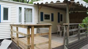 Hebergement Camping Les Cent Chenes : Mobile Home
