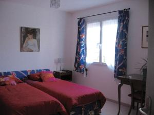 Chambres d'hotes/B&B gite Rose-The : Chambre Lits Jumeaux