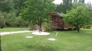 Chambres d'hotes/B&B Chambres d'hotes La Chabriere : Mobile Home