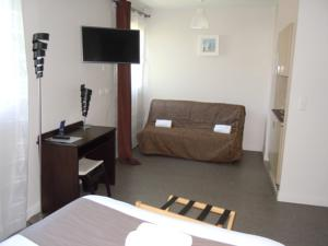 Hebergement Sweet Home Appart'Hotel Deauville Sud : photos des chambres