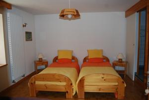 Chambres d'hotes/B&B Chambre d'hotes Kieffer : Chambre Lits Jumeaux