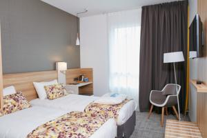 Hotel Kyriad Pontarlier : Chambre Lits Jumeaux Standard
