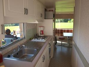 Hebergement Jura mobile home : photos des chambres