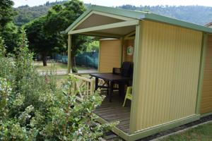 Hebergement Camping La Charderie : Chalet 2 Chambres