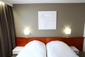 Hotel Welcome - Dunkerque Centre : Chambre Lits Jumeaux