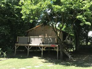 Hebergement Camping Du Perche Bellemois : Lodge