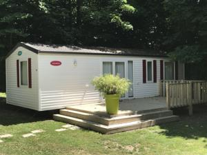 Hebergement Camping Du Perche Bellemois : Mobile Home