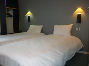 Contact Hotel Lunotel Saint Lo : Chambre Lits Jumeaux