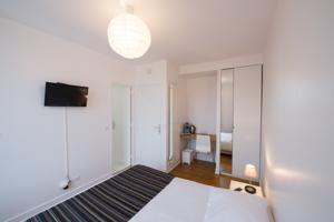 Hebergement Residence Service Appart Hotel : Chambre Double Basique
