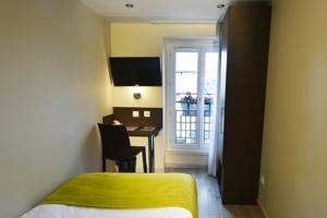 Hotel Qualys Mouffetard Apolonia : Chambre Simple