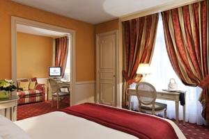 Hotel Barriere Le Grand Hotel : photos des chambres