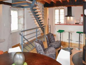 Hebergement Holiday Home Montjoi with Fireplace I : photos des chambres