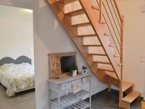Hebergement Holiday home Renty with a Fireplace 417 : photos des chambres