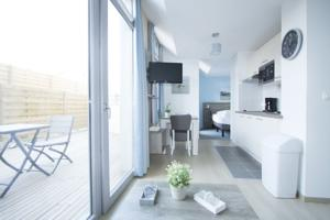 Appartement Holiday Suites Bray-Dunes Peupliers : Studio avec Terrasse
