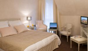 Logis Hotel Le Parc & Spa : Chambre Simple