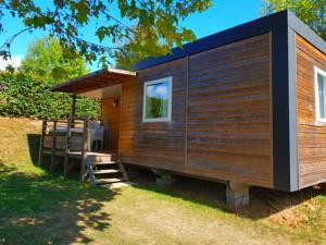 Hebergement Camping La Grappe Fleurie : Mobile Home (6 Adultes)
