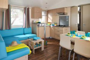 Hebergement Naturisme Heliomonde Camping Ile de France : Mobile Home
