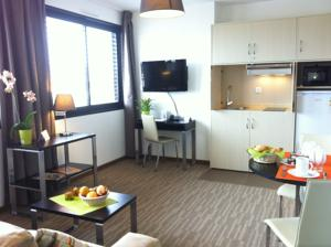 Hebergement Odalys City Ferney Geneve : Appartement 1 Chambre (4 Adultes)
