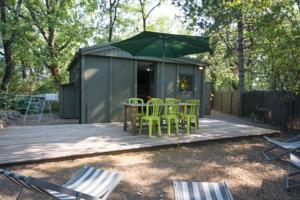 Hebergement Camping Les Cent Chenes : Chalet 3 Chambres