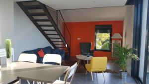 Appartement Loft Eurexpo - St Exupery : photos des chambres