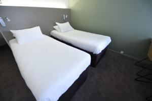 Hotel The Originals Annecy Aeroport (ex Inter-Hotel) : Chambre Lits Jumeaux