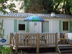 Hebergement Camping Le Vallon Rouge : Mobile Home