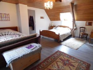 Chambres d'hotes/B&B Pink House in Banios : Chambre Familiale