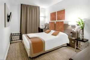 Kyriad Chambery Centre - Hotel et Residence : Chambre Simple Standard