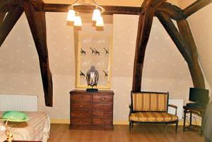 Chambres d'hotes/B&B cafe couette : Chambre Double