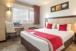Hotel Akena City Reims Bezannes : Chambre Double
