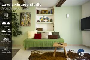 Appartement Studio Vintage - Dodo et Tartine : Studio