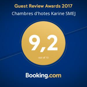 Chambres d'hotes/B&B Chambres d'hotes Karine SMEJ : Chambre Double