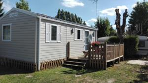 Hebergement Camping Loisirs Des Groux : Mobile Home 2 Chambres