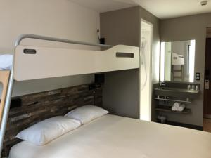 Hotel ibis budget Annecy Poisy : Chambre Triple