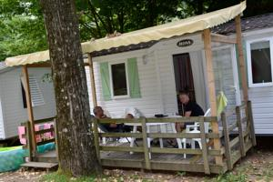 Hebergement Camping Le Ventadour : Mobile Home