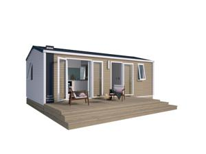Hebergement Camping Le Ventadour : Mobile Home (4 Adultes)