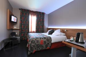 Hotel Le Longchamp : Chambre Double Confort Grand Lit ou Twin