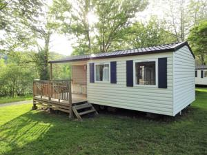 Hebergement Camping Audinac Les Bains : Mobile Home 2 Chambres Confort (4 Adultes)