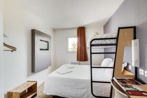 Hotel et Residence Esbly / Marne-La-Vallee. : Chambre Triple - 3 Lits Simples