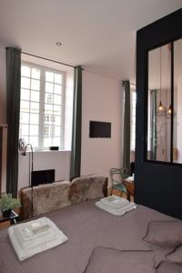 Appartement Home in Bayeux : photos des chambres