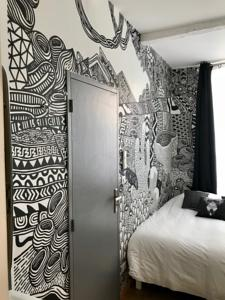 Appartement Arty Room Black and White : photos des chambres