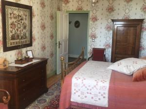 Chambres d'hotes/B&B Le Prieure d'Orchaise : Chambre Lit Queen-Size Deluxe