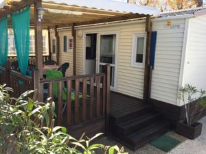 Hebergement Mobil Home a Valras-Plage : Mobile Home