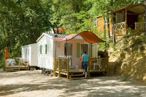 Hebergement Camping Le Bourdieu : Cottage Duo