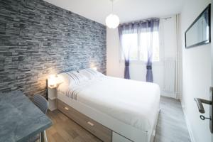 Appartement Le Cottage Flaubert : photos des chambres