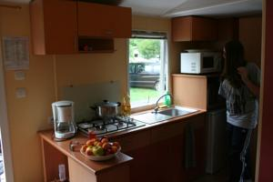 Hebergement Camping Le Verger Fleuri : Mobile Home
