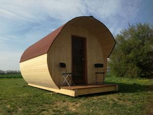 Chambres d'hotes/B&B Ain'solites Camping Journans : Chambre Double